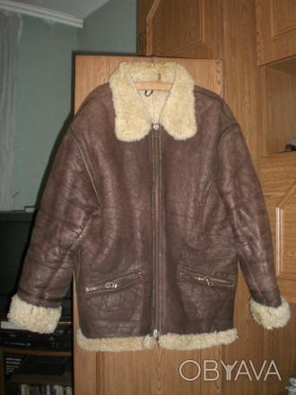 ᐈ Зимова шкіряна куртка-пілот PARIS DAKAR ᐈ Червоноград 2000 ГРН ... c218fcbb31c02