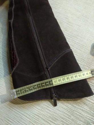 Продам свои сапоги,б/у. Причина продажи-не гадала с размером. Цвет коричневый,ве. Каменское, Днепропетровская область. фото 10