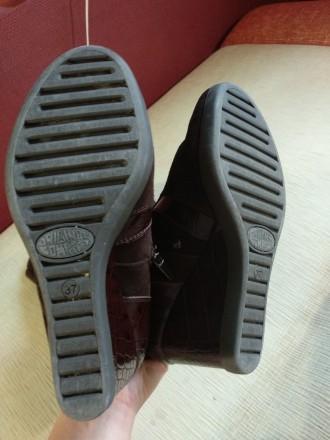 Продам свои сапоги,б/у. Причина продажи-не гадала с размером. Цвет коричневый,ве. Каменское, Днепропетровская область. фото 6