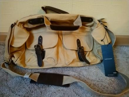 Очень стильная винтажная сумка, абсолютно новая, с биркой. Размер 40*20*12. Поку. Чернигов, Черниговская область. фото 2