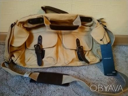 Очень стильная винтажная сумка, абсолютно новая, с биркой. Размер 40*20*12. Поку. Чернигов, Черниговская область. фото 1