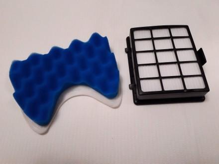 Комплекті фільтрів губки + нера фільтр   Підходить для всіх моделей серії SC65. Львов, Львовская область. фото 2