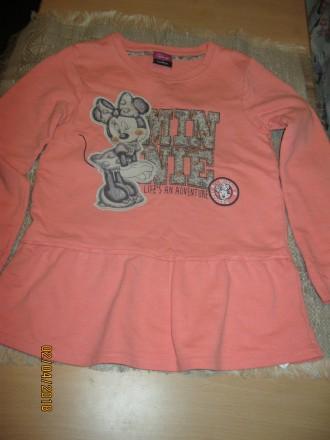 Продам нежно-розовое платье для девочки 5-6 лет рост 110-116 см. Чернигов. фото 1