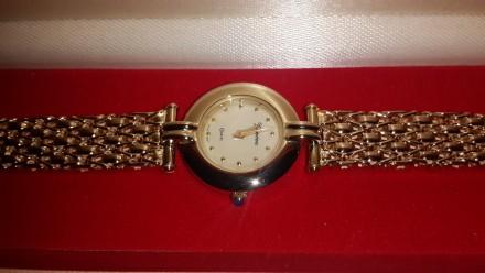 Продам золотые часы женские кварцевые. Киев. фото 1