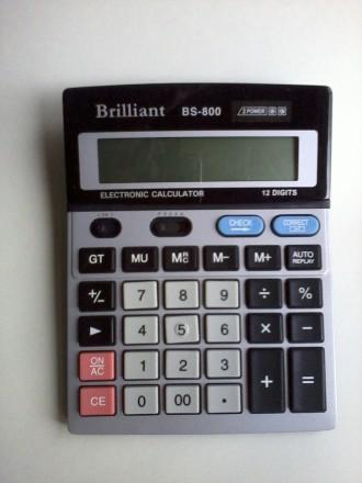 Калькулятор настольный Brilliant BS-800. Одесса. фото 1