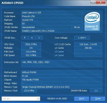 Socket 478  Intel® Celeron® D Processor 325 (256K Cache, 2.53 GHz, 533 MHz FSB). Одесса, Одесская область. фото 3