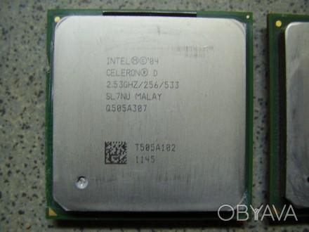 Socket 478  Intel® Celeron® D Processor 325 (256K Cache, 2.53 GHz, 533 MHz FSB). Одесса, Одесская область. фото 1