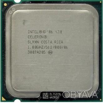 Intel® Celeron® 430 1.80 GHz (512K Cache,800 MHz FSB) https://ark.intel.com/ru/. Одесса, Одесская область. фото 1