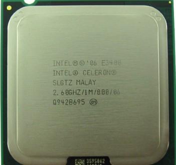Intel® Celeron® Dual-Core Processor E3400 (1M Cache, 2.60 GHz, 800 MHz FSB) htt. Одесса, Одесская область. фото 2