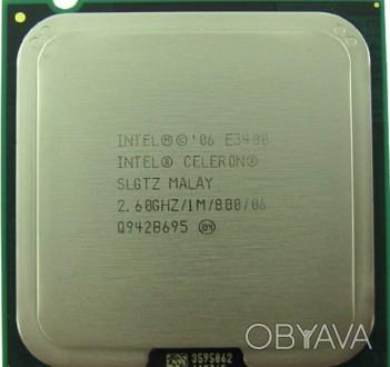 Intel® Celeron® Dual-Core Processor E3400 (1M Cache, 2.60 GHz, 800 MHz FSB) htt. Одесса, Одесская область. фото 1