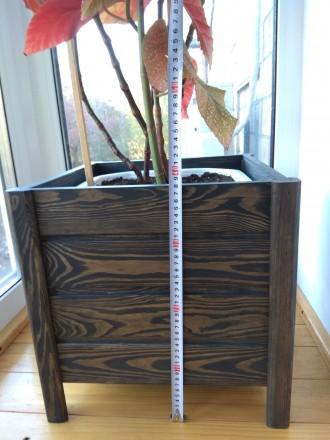 Декоративний вазон Внутрішній розмір Д 340 * Ш 340 * В 320. Об'єм 37л. Ціна 530. Киев, Киевская область. фото 13