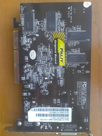 продам видеокарту ATI Radeon 9550 AGP8X 128MB TV-OUT DVI. Сумы. фото 1