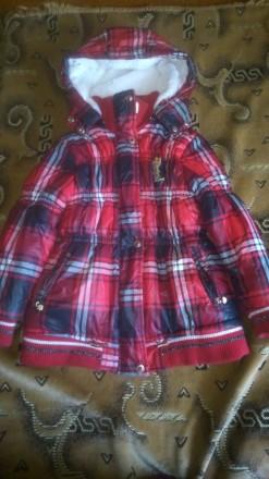 Демисезонная куртка на девочку. Киев. фото 1