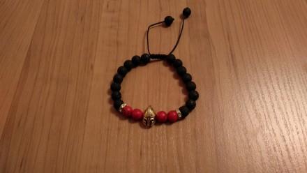 Стильні чоловічі-жіночі браслети, шамбала (натуральний камінь, подарунок ). Львов. фото 1