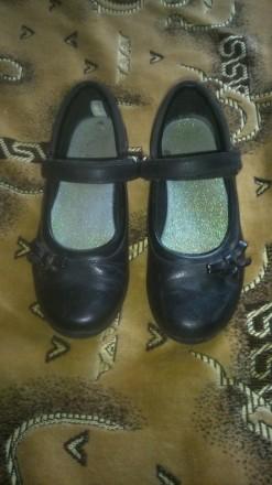 Фирменные туфли на девочку Clarks. Киев. фото 1