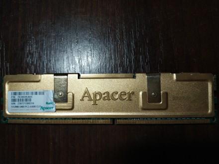 Модуль памяти Apacer 512MB DDR2-800 CL5 с радиатором охлаждения. Вышгород. фото 1