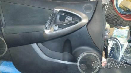 Дверні карти(обшивки дверей)передні 2 шт.права і ліва Тойота Рав 4 2006-2012рік.. Львов, Львовская область. фото 1