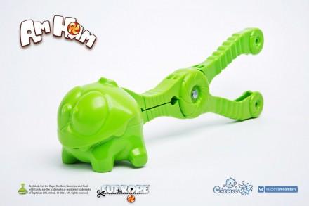 Снежколеп СнежкоБум - Ам Ням «Cut the Rope» - игрушка для лепки снежков. Запорожье. фото 1