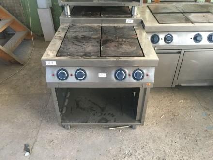 Б/у Профессиональная электрическая плита Kogast ES T47/P. Киев. фото 1