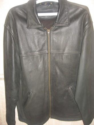 Кожаная куртка Renato Cavalli. Киев. фото 1