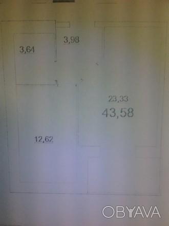Продается 1к. квартира в новостройке. 6/11/К. 43/26/11. Квартира после строителе. Казбет, Черкассы, Черкасская область. фото 1