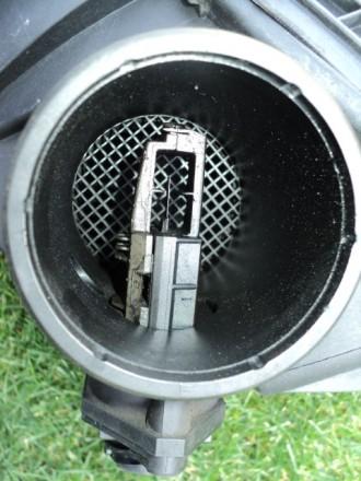 Б/у датчик массового расхода воздуха Mercedes W 210 Мотор 602. 2.9ТD Внешний вид. Новомосковск, Днепропетровская область. фото 5