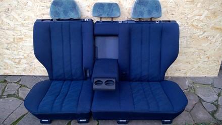 Задний комплект сидений с седана и универсала mercedes benz e w210. Возможна пер. Новомосковск, Днепропетровская область. фото 4