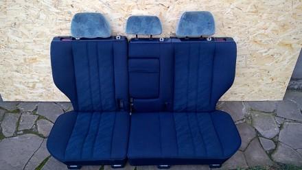 Задний комплект сидений с седана и универсала mercedes benz e w210. Возможна пер. Новомосковск, Днепропетровская область. фото 5