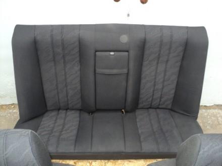 Задний комплект сидений с седана и универсала mercedes benz e w210. Возможна пер. Новомосковск, Днепропетровская область. фото 3