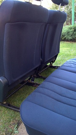 Задний комплект сидений с седана и универсала mercedes benz e w210. Возможна пер. Новомосковск, Днепропетровская область. фото 7
