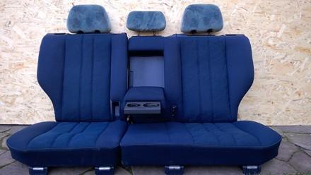 Задний комплект сидений с седана и универсала mercedes benz e w210. Возможна пер. Новомосковск, Днепропетровская область. фото 6