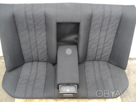 Задний комплект сидений с седана и универсала mercedes benz e w210. Возможна пер. Новомосковск, Днепропетровская область. фото 1