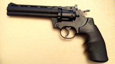Продам пневматический револьвер Crosman AIRGUN 357.. Ужгород. фото 1