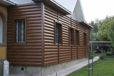 Качественный и эргономичный металлический блок-хаус демонстрируемый в различных . Ровно, Ровненская область. фото 8