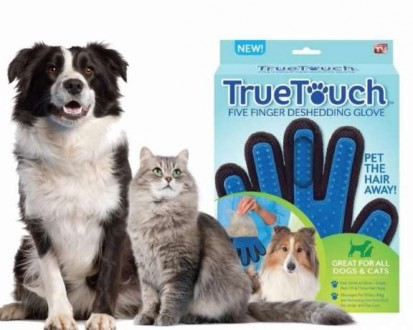 True Touch перчатка для шерсти животных опт/розн. Харьков. фото 1