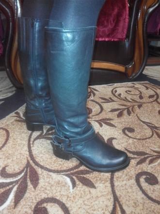 Сапоги женские натуральная кожа пр ф CLARKS original (написан размер 4(1/2) утеп. Каменское, Днепропетровская область. фото 3