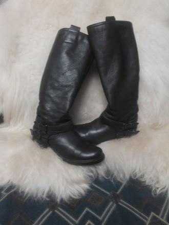Сапоги женские натуральная кожа пр ф CLARKS original (написан размер 4(1/2) утеп. Каменское, Днепропетровская область. фото 6