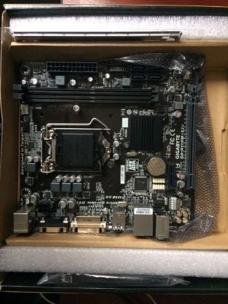 Материнская плата Gigabyte GA-H110M-S2V rev 1. 0  (s1151, Intel H110, PCI-Ex16). Львов, Львовская область. фото 5