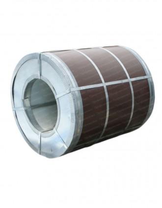 Рулонная сталь с полимерным покрытием Printech под дерево. Днепр. фото 1