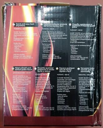 Описание Портативный обогреватель Handy Heater - это компактный прибор, который. Харьков, Харьковская область. фото 9