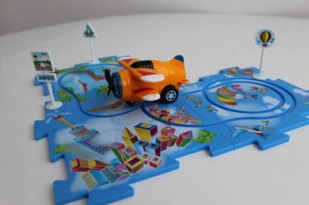 Управляемые пазлы игрушка Puzzle pilot Германия. Запорожье. фото 1