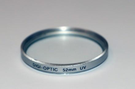 Светофильтр Digi-optic 52 мм UV. Харьков. фото 1