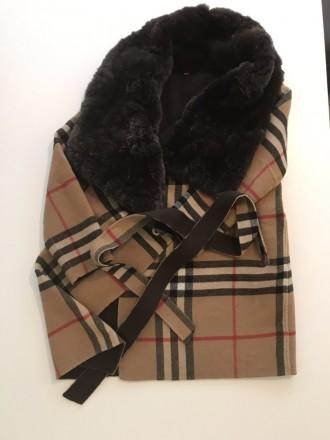 """burberry""""- відома фірма, якої є це пальто. Воротник-25см, довжина-82см, плече-5 . Киев, Киевская область. фото 10"""