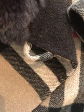 """burberry""""- відома фірма, якої є це пальто. Воротник-25см, довжина-82см, плече-5 . Киев, Киевская область. фото 7"""