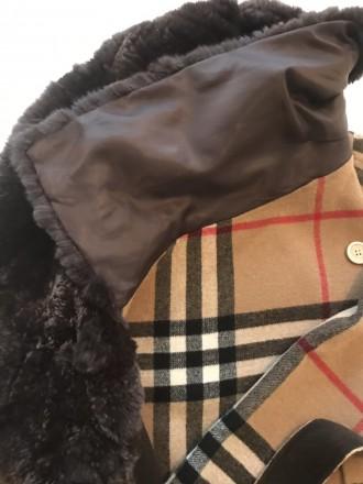 """burberry""""- відома фірма, якої є це пальто. Воротник-25см, довжина-82см, плече-5 . Киев, Киевская область. фото 9"""