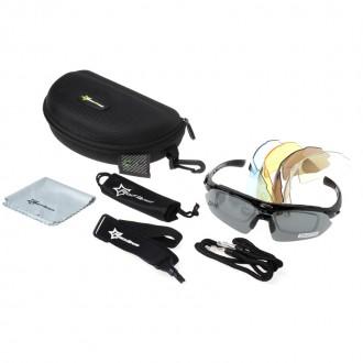 Спортивные очки Rockbros со сменными линзами. Мелитополь. фото 1