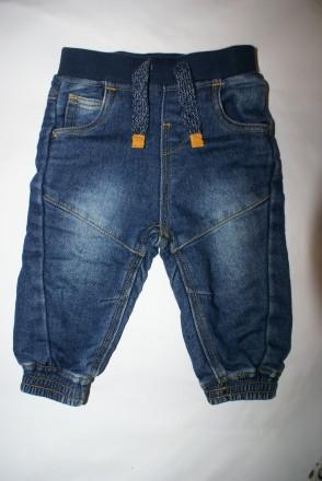 Джинсы, штаны трикотажные 6-9 мес. Днепр. фото 1