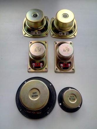 Продаю динамики: JY 4 Ом 5W, 78х40 мм в количестве 2 шт-439 грн;               . Киев, Киевская область. фото 3