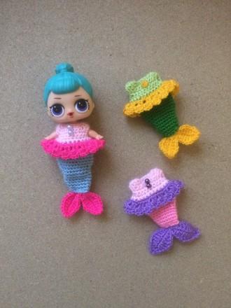 Одёжки для кукол лол(Lol русалка). Киев. фото 1