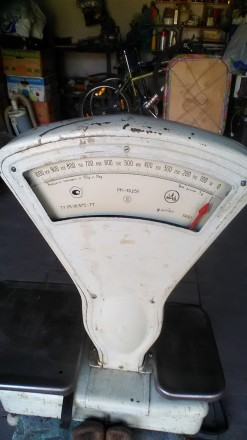Весы стрелочные. Кривой Рог. фото 1